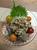 海鮮オクラの納豆かけサラダ